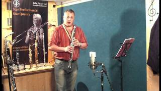 JP021 Bb clarinet demonstration by Pete Long - John Packer Ltd