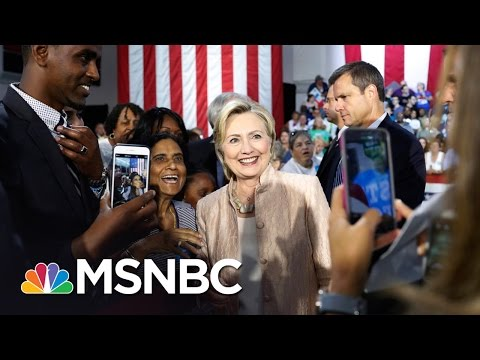 Hillary Clinton Tests Electoral Map With Utah Office | Rachel Maddow | MSNBC