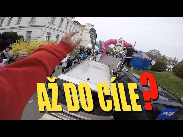 Parkourista běží Urban Challenge!