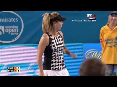 Philippoussis & Sanchez Vicario vs Wilander & Bartoli FULL MATCH HD World Tennis Challenge