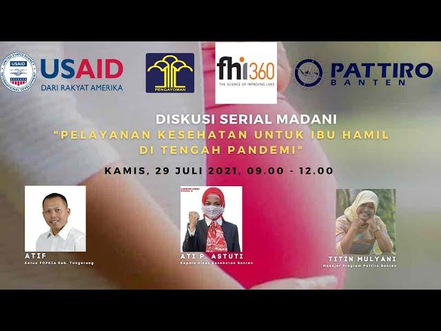Pelayanan Kesehatan Untuk Ibu Hamil di Tengah Pandemi