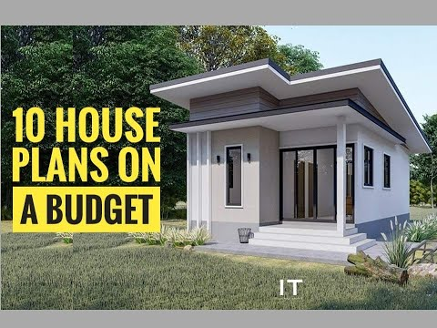 10 Modern House Plan You Can Build On A Budget