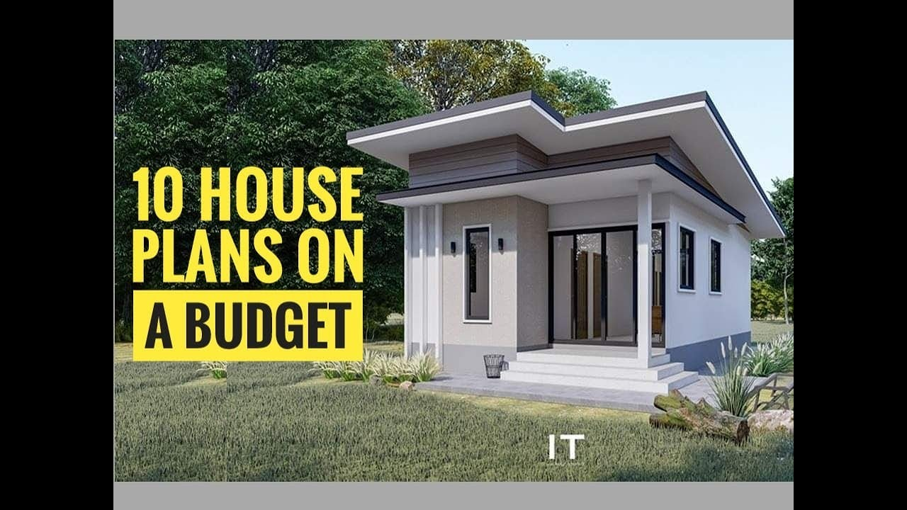32 Modern House Plan You Can Build On A Budget