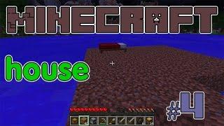 Minecraft #4 Строительство нового дома Выплавка стекла The construction of a new home