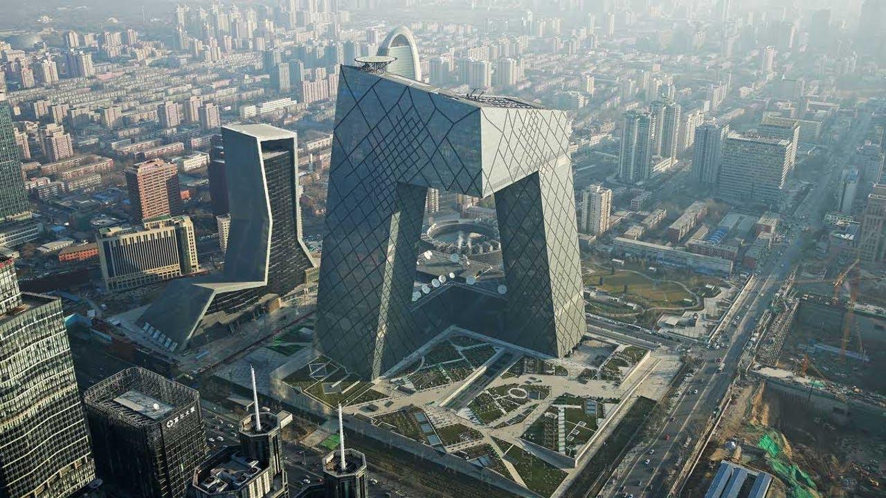 China Beijing Cctv Headquarters Youtube