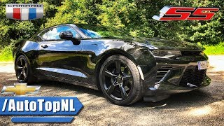 2018 chevrolet camaro ss dual mode exhaust sound drive loud by autotopnl