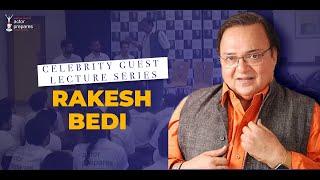 Masterclass with rakesh bedi
