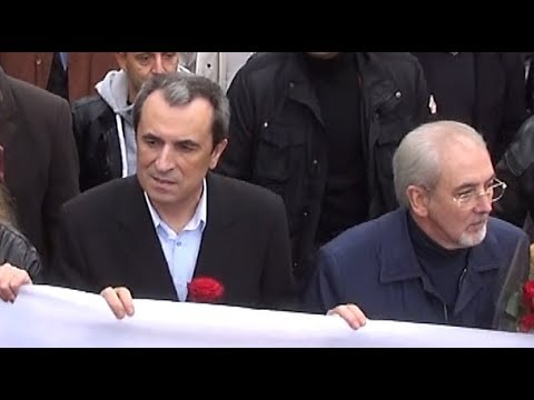 Rally supporting Bulgarian Government in Sofia 16.11.2013 in Full 3D HD