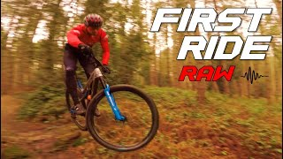 FIRST RIDE ON THE 2021 INTENSE SNIPER FRO - RAW EDIT