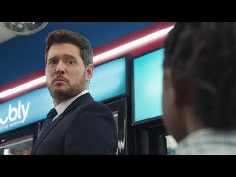 Amanda McGraw - Michael Bublé struggles with pronunciation in Super Bowl commercial