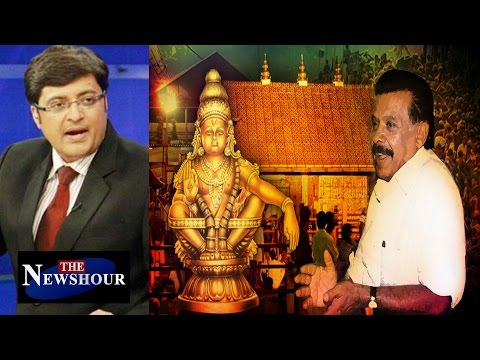 Women Not Allowed In Sabarimala Temple : The Newshour Debate (12th Jan 2016)