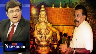 Women Not Allowed In Sabarimala Temple : The Newshour Debate (12th Jan 2016)