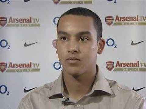Theo Walcott interview for Arsenal