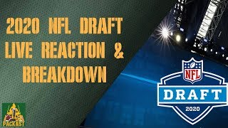 2020 NFL Draft Live Reaction & Breakdown (Rounds 2 & 3)