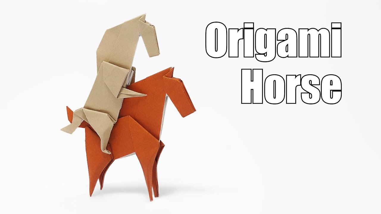 Origami Horse (Jo Nakashima) - YouTube - photo#40