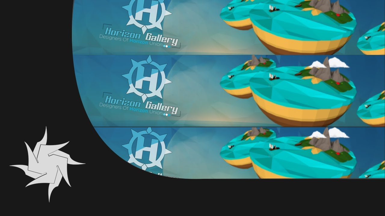 Horizon Gallery Rc Entry - Low poly banner - YouTube