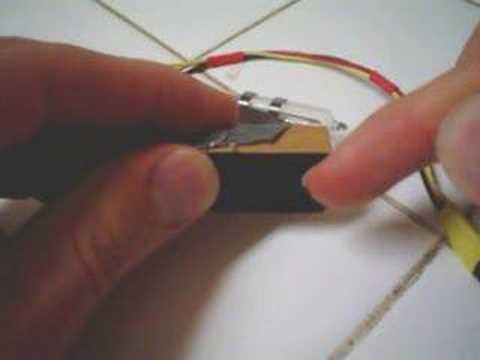 mercury tilt switch demo youtubemercury tilt switch demo