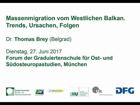 """Thomas Brey: """"Moderne Massenmigration vom Westlichen Balkan - Trends, Ursachen, Folgen"""""""
