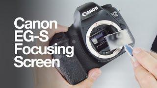Canon EG-S Super Matte Focusing Screen