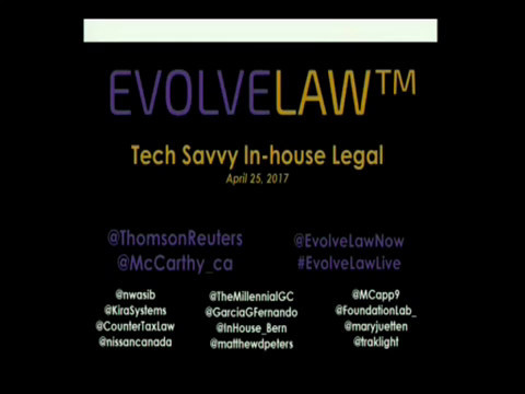Tech Savvy In-House Legal