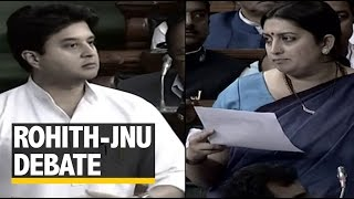 Irani Takes on Opposition, Says She is Being targeted