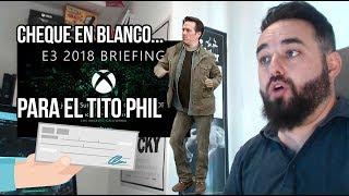 Conferencia Xbox E3 2018 CHEQUE EN BLANCO PARA EL TITO PHIL PARA SER COMPETENCIA REAL DE SONY
