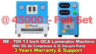 Baixar RE-700 OCA Machine ₹45000/- Free Training With 3 Years Warranty  WhatsApp : 98308 33133