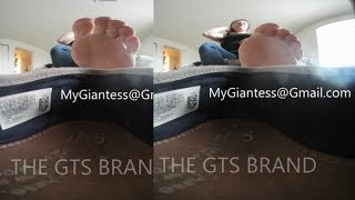 In The Shoe Of A Giantess! (360 virtual reality video)