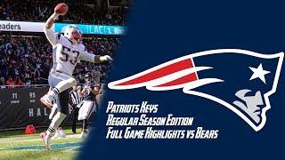 Patriots vs Bears Week 7 Regular Season FULL GAME Highlights