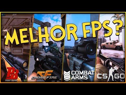 🔵 QUAL É O MELHOR FPS? - Combat Arms x CSGO x Point Blank x Crossfire
