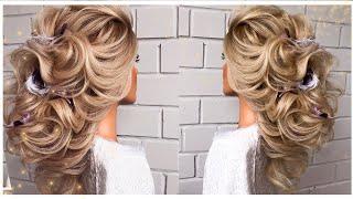 Греческая коса свадебная прическа