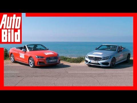 Audi S5 vs. Mercedes-AMG C43 (2017) Fahrbericht/Review