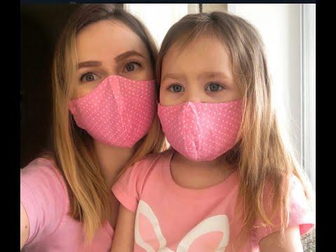 Легко сшить защитную маску для лица