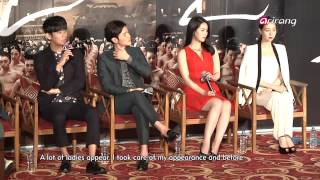 Video Showbiz Korea-PRESS CONFERENCE OF THE TREACHEROUS   간신 제작발표회 download MP3, 3GP, MP4, WEBM, AVI, FLV Oktober 2018