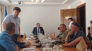 Засідання Комітету з оборони та нацбезпеки