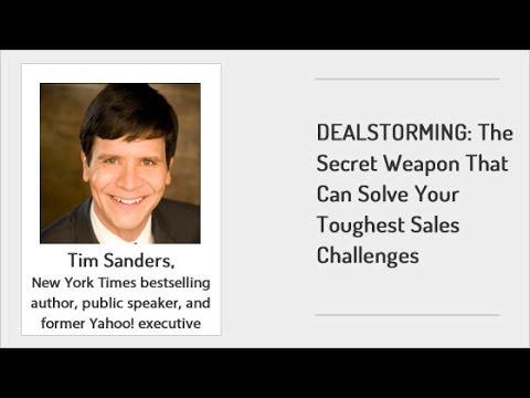 DEALSTORMING The Secret Weapon That Can Solve Your Toughest Sales Challenges