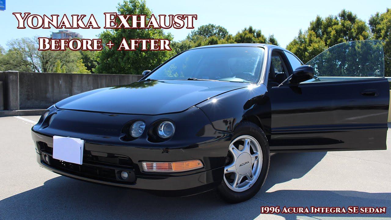 1996 acura integra yonaka exhaust