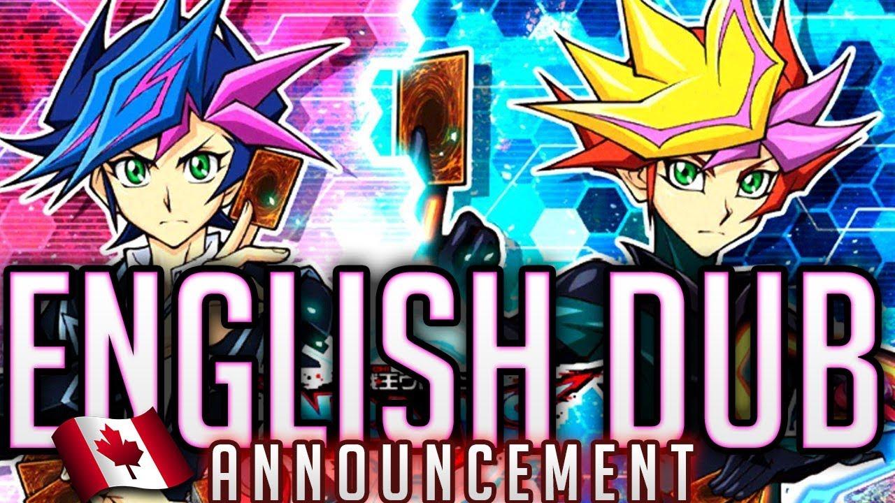 English DUB ANNOUNCED | YuGiOh VRAINS