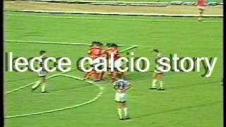 Lecce-ascoli 2-2 - 28/08/1983 coppa italia 1983/'84 1° turno/girone 8/3.a giornata