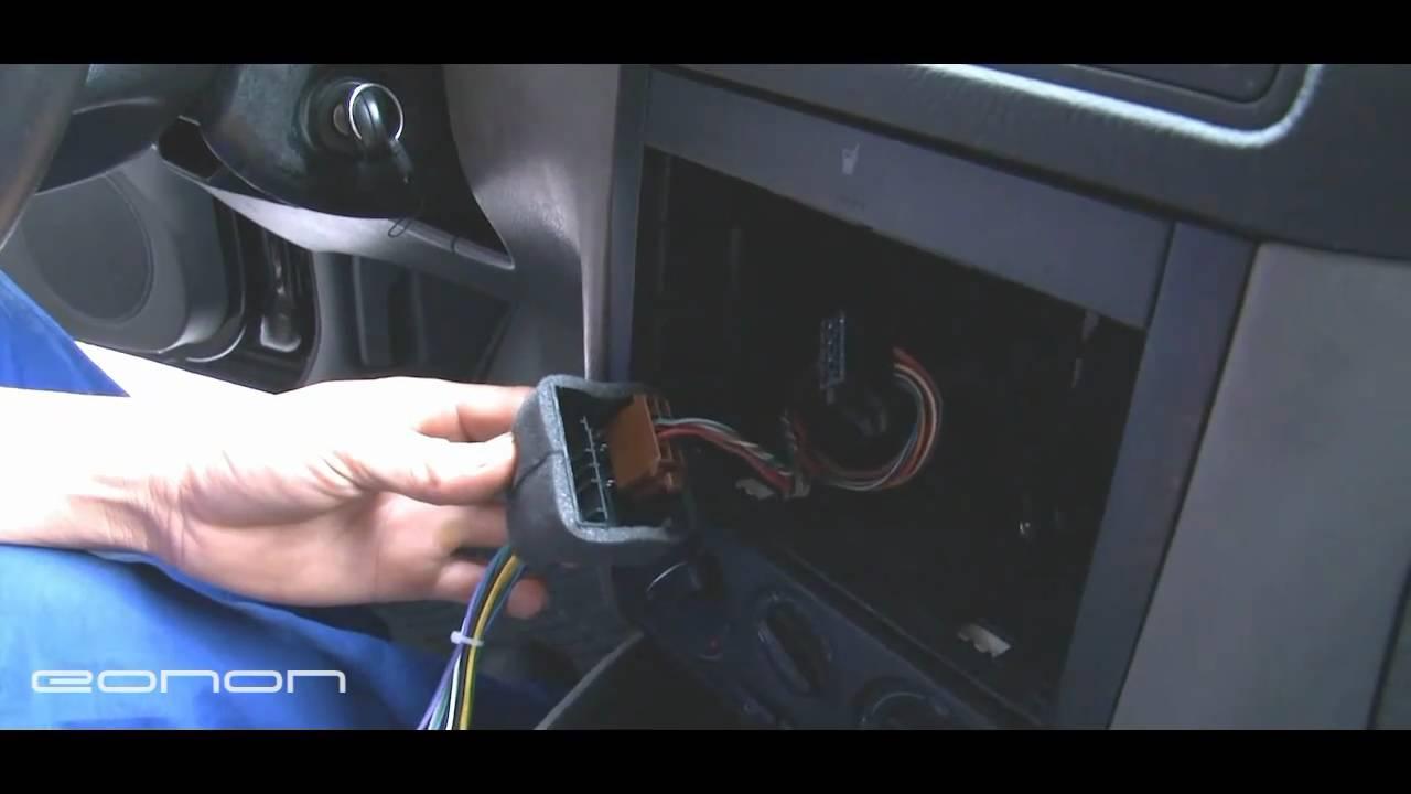 VW GolfPolo Dash Kits DIY Installation Guide for Eonon General Car DVD GPS  YouTube