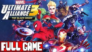 MARVEL ULTIMATE ALLIANCE 3 Full Game Walkthrough - No Commentary (#MUA3 Black Order Full Game) 2019