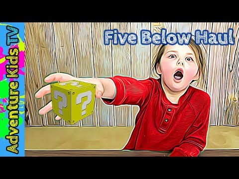 We spend only $5 at Five Below and get a Toy for everyone | Adventure Kids TV