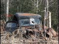 RUSTY RAT ROD 46 FORD 3/4 TON TRUCK FIELD FIND by