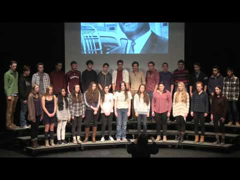 Martin Luther King Assembly: Concert Choir - The Derryfield School