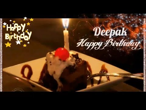 Happy Birthday Deepak -  Birthday Names Videos - Birthday Names Songs- Video'S ParK