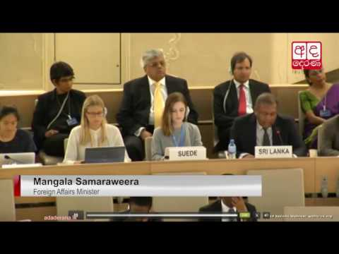 UN human rights chief delivers oral update on Sri Lanka to UNHRC