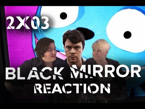 Black Mirror 2X03 THE WALDO MOMENT reaction!!