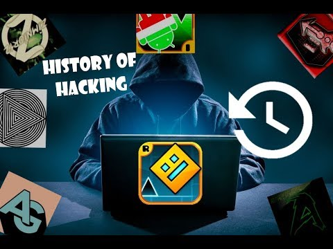 HISTORY OF HACKING GEOMETRY DASH (feat. Mgostih, Absolute gamer and more...)