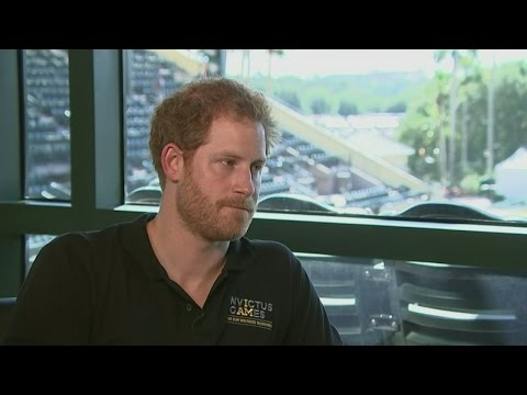 Prince Harry speaks about life without mother Princess Diana