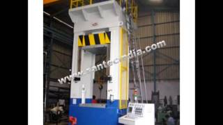 SANTEC GROUP-Hydraulic Cutting,Trimming & Forging Presses Machine Manufacturer India